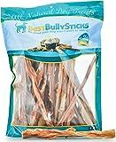 Best Bully Sticks 100% Natural Beef Bladder Sticks Dog Treats, Single Ingredient Dental Health Dog Chew, 100% Natural, Safer Alternative to Rawhide