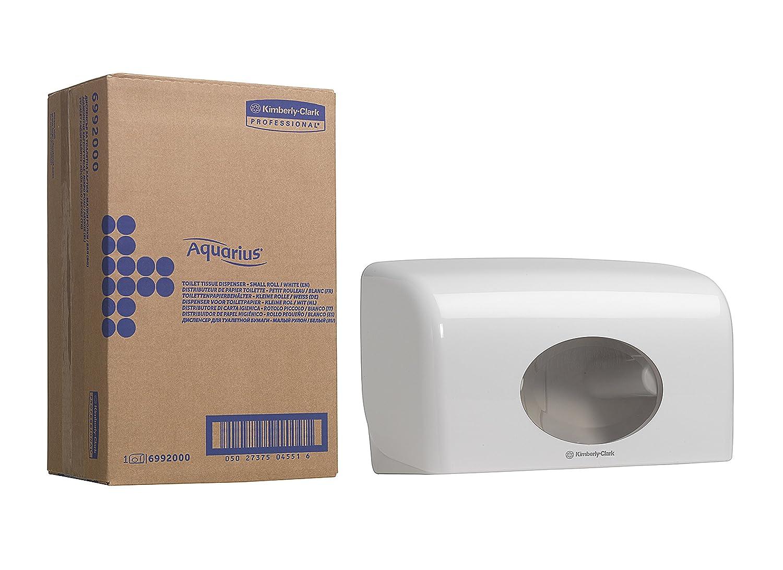 Kimberly-Clark Professional Toilettenpapier, 8 x 8 Kleinrollen x 250 Blätter, 1er Pack (1 x 64 Stück) Plus Spender