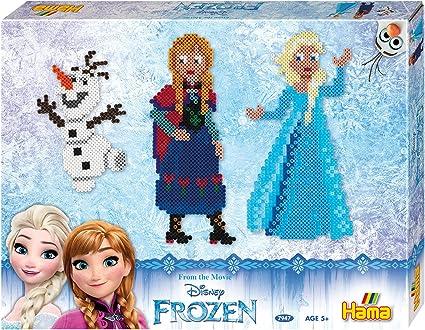 Hama Beads Frozen de Disney Caja de Regalo: Amazon.es: Juguetes y juegos
