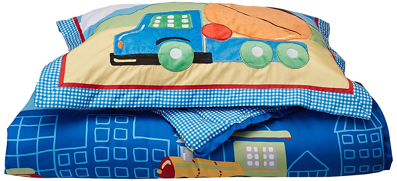 Multicolor Twin Mizone Kids Totally Transit 3 Piece Comforter Set