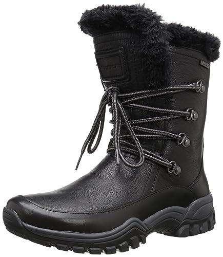 Rockport Women s Finna Faux Fur Waterproof Snow Boot 66792f6c9d