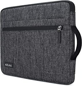 "kizuna 14 Inch Laptop Sleeve Case Water-Resistant Computer Carrying Bag Notebook Handbag for Lenovo Flex 14/14"" HP EliteBook 840 G5/HP Pro 14 G3/Dell Latitude 7490 5490/15"" Surface Laptop 3, Grey"