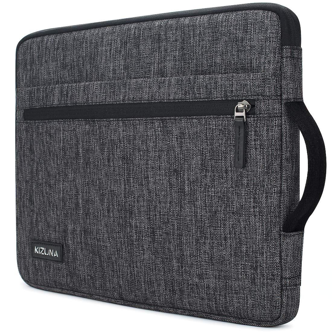 KIZUNA 14 Inch Laptop Sleeve Case Bag Notebook Carrying Handbag for Surface Book/Lenovo Flex 4/14'' ThinkPad L480/ThinkPad X1 Carbon 2017/14'' EliteBook 840 G5/14.1'' Dell New Latitude 7490 2018 - Grey