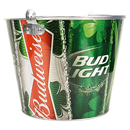 Beer Brand Full Color Aluminum Beer Bucket (Bud Light