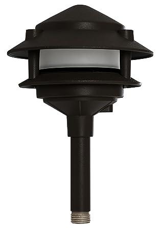 westgate lighting led pagoda lights 12v 4 antique bronze finish