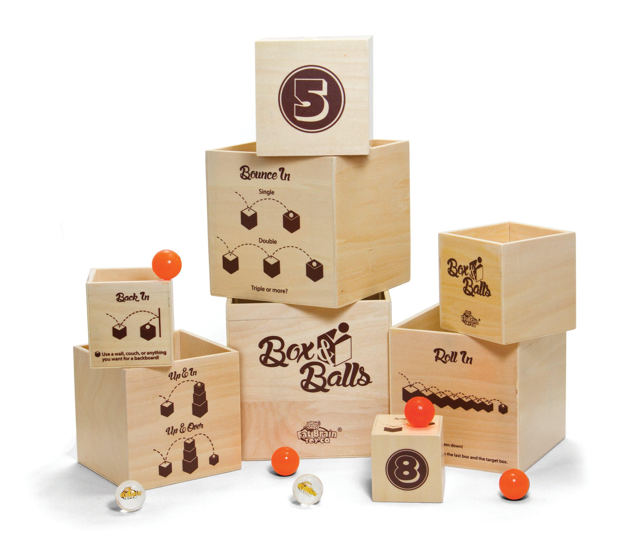 Fat Brain Toys Box and Balls
