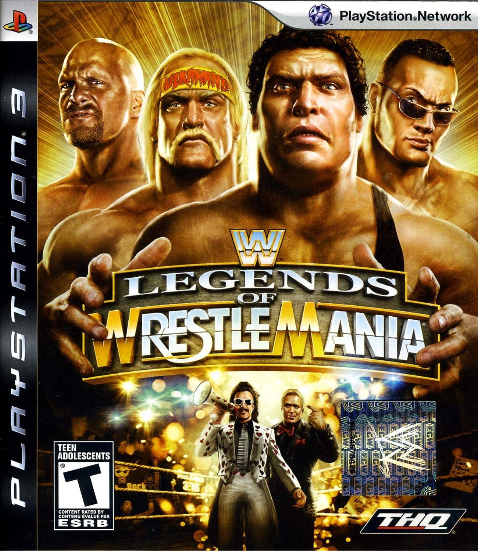 Amazon com: WWE Legends of WrestleMania: Playstation 3