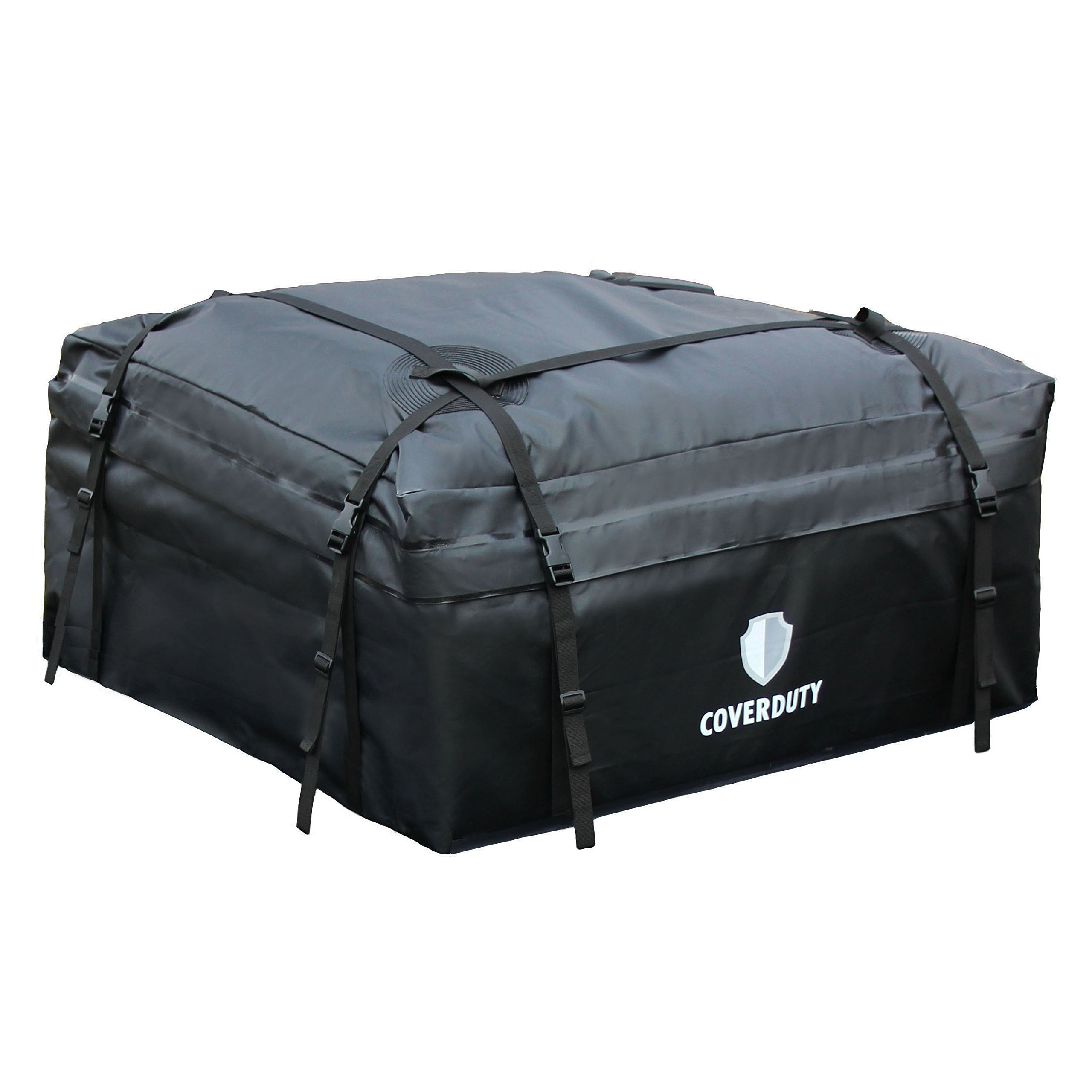 Cover Duty Waterproof Car Top Carrier – Easy to Install Roof Top Cargo Carrier, Extremely Durable Weather Resistant