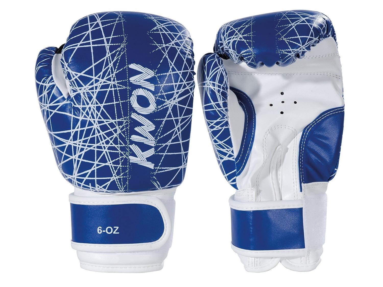 Kwon Kinder Boxhandschuhe Neon 6oz pink-blau AAN