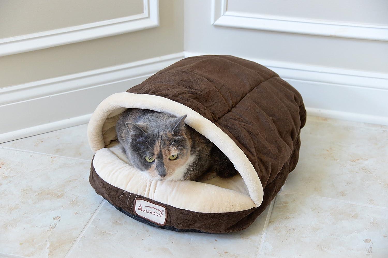 Armarkat Cozy Pet Bed , Mocha and Beige Armarkat Cozy Pet Bed , Mocha and Beige new photo