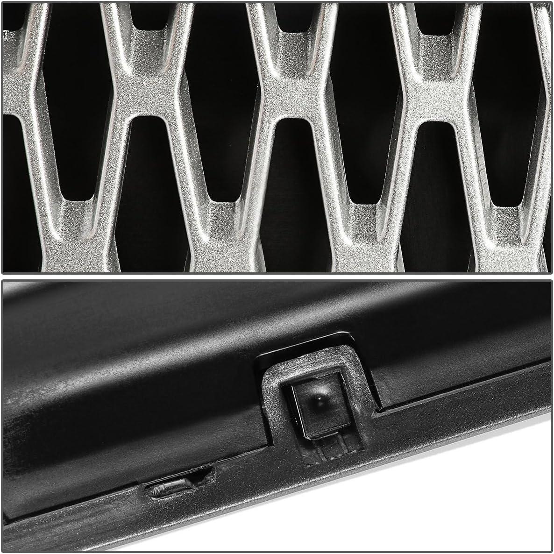 For 03-12 Land Rover Range Rover L322 DNA Motoring GRF-090-GR-SL Side Fender Mesh Grille