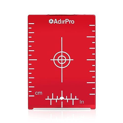 Laser target plate