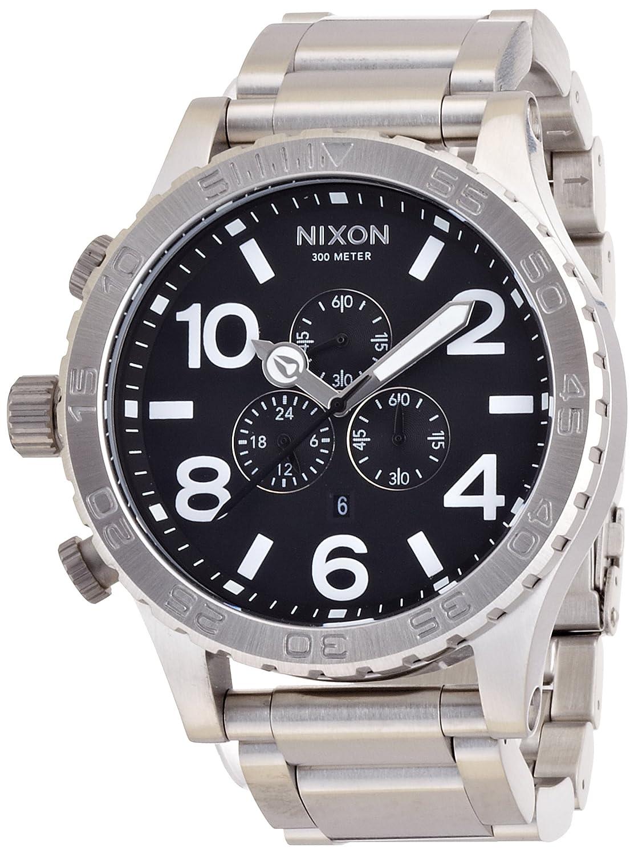 NIXON (ニクソン) 腕時計 THE 51-30 CHRONO BLACK NA083000-00 メンズ [正規輸入品] B001H54GM0