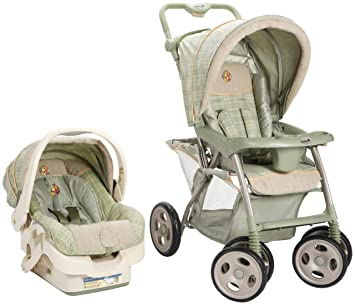 Amazon.com : Disney Baby Propack LX Travel System, New Ambrosia (Discontinued by Manufacturer) : Infant Car Seat Stroller Travel Systems : Baby