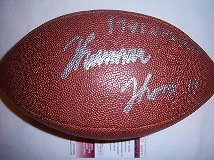 04d8721a452 Signed Thurman Thomas Football - hof coa - JSA Certified - Autographed  Footballs