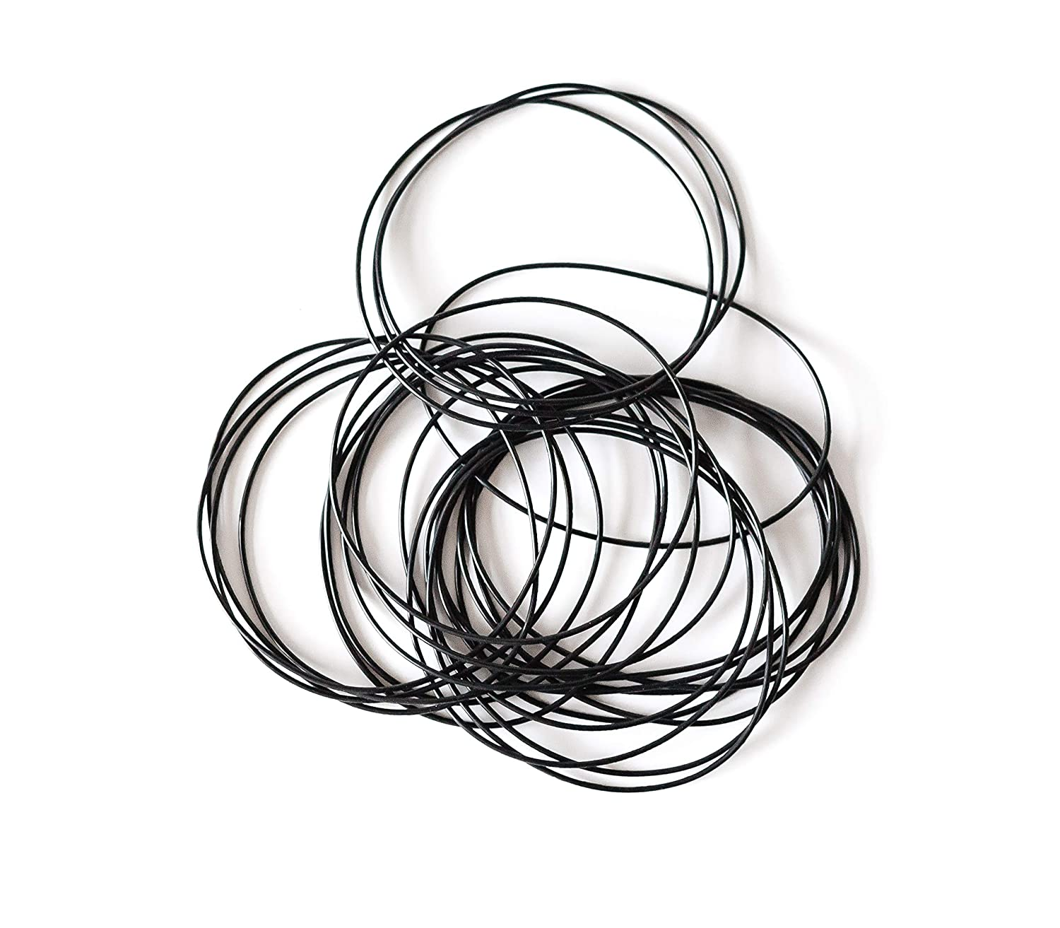 Pack of 25 3 1//2 CS 1//16 Buna-N 70A Durometer 3 1//2x3 5//8x1//16 Nitrile Rubber Oring EAI AS568 ORing Seal #043 ID