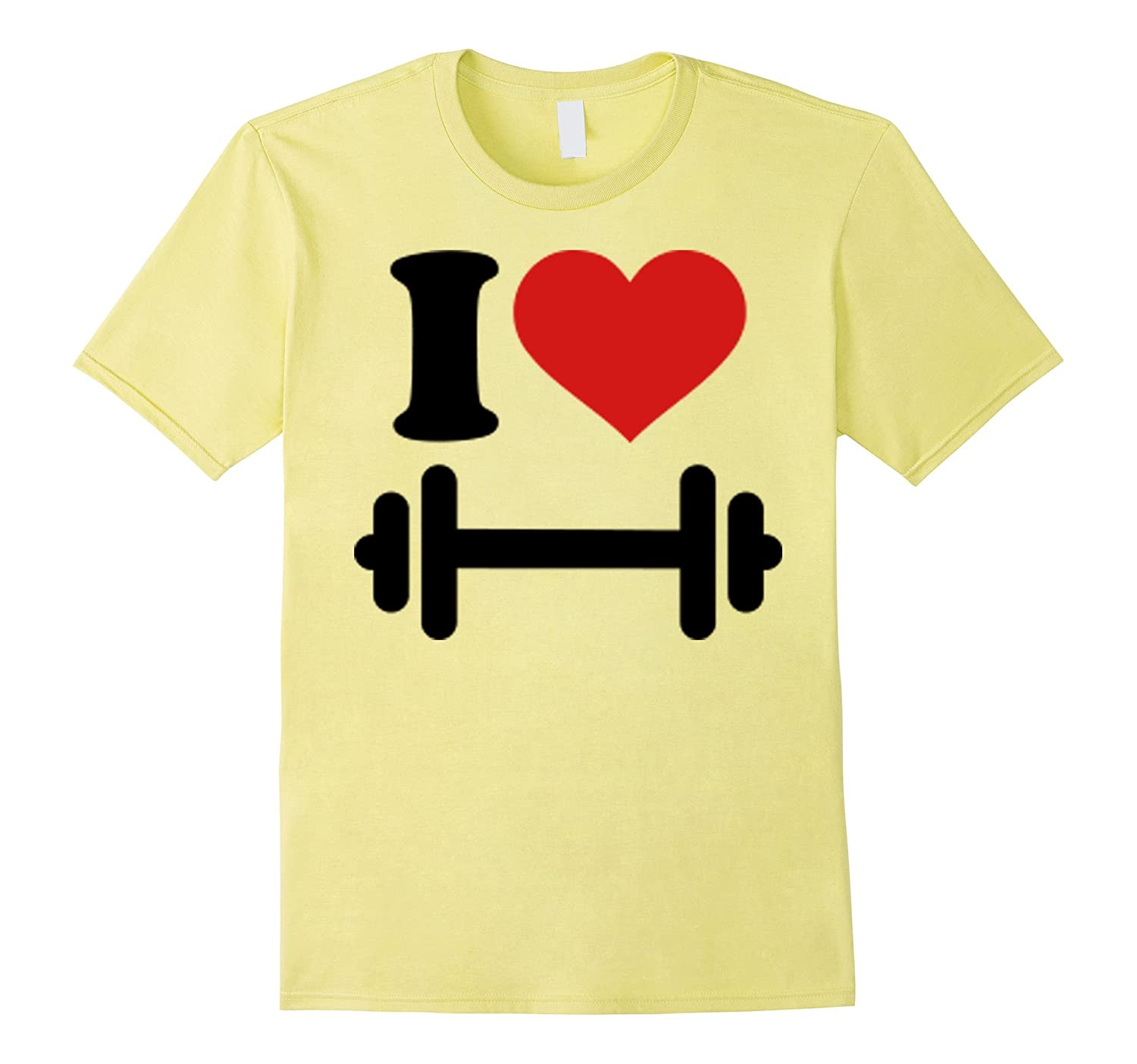 I Love To Workout With Barbell  Dumbbell Gym Rat Tshirt-Vaci