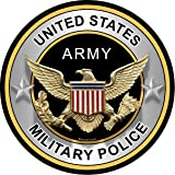 "ProSticker 313 (One) 4"" Military Series ""United States Army Military Police"" Decal Sticker"