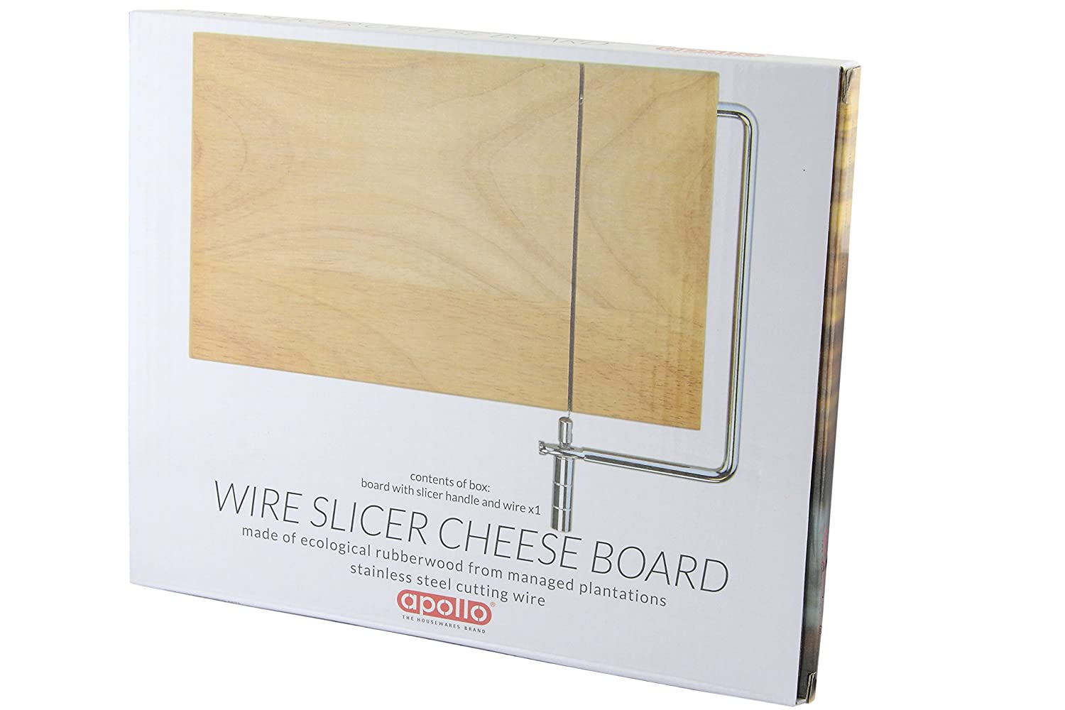 Apollo Rb Cheese Board with Wire: Amazon.co.uk: Kitchen & Home