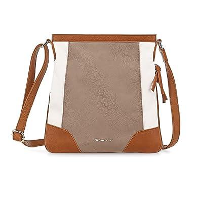 348c355d59885 Tamaris Crossbody Bag Sharon taupe comb  Amazon.de  Schuhe   Handtaschen
