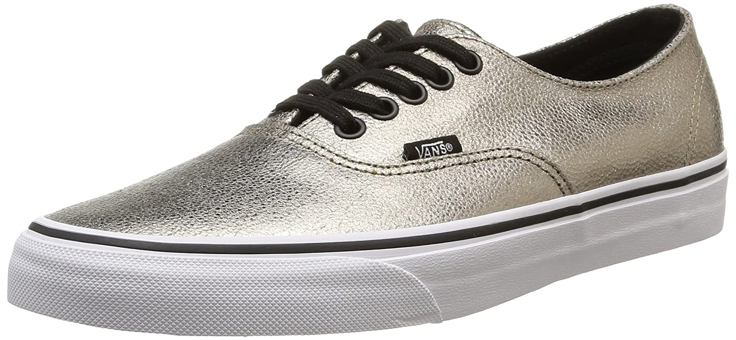 Amazon.com | Vans Metallic Authentic Decon mens skateboarding-shoes  VN-018CGJE_4 - bronze/true white | Skateboarding