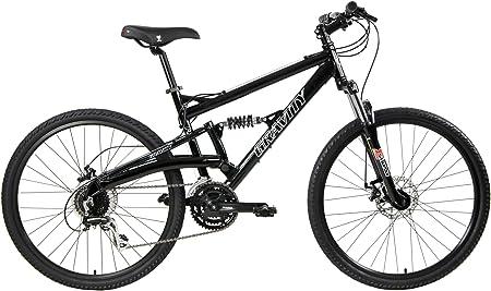 Gravity 2021 FSX 1.0 Dual Full Suspension Mountain Bike with Disc Brakes Aluminum Frame