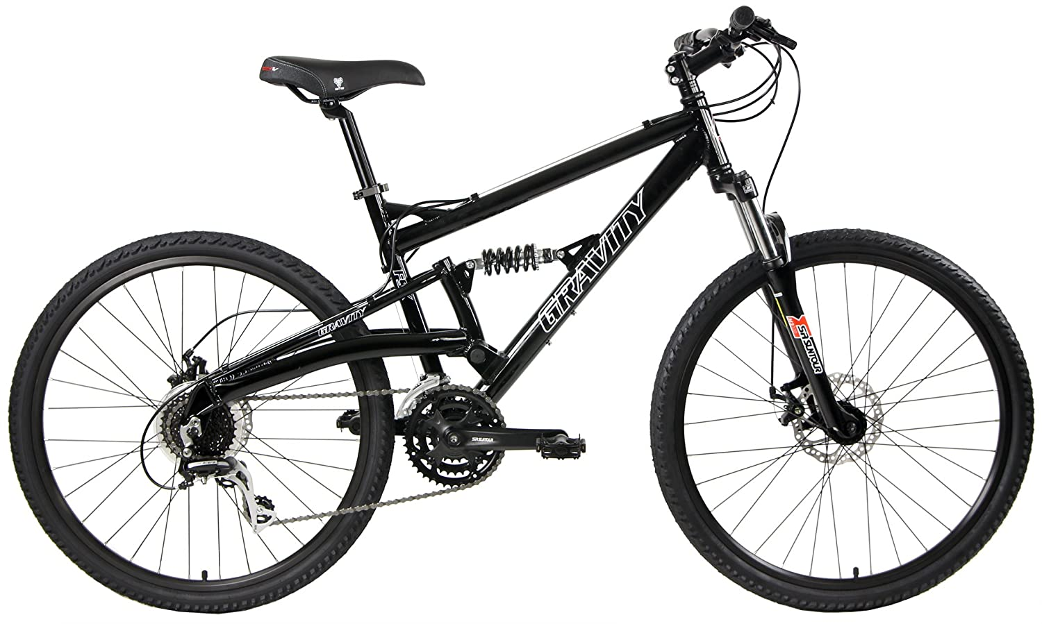 2020 Gravity FSX 1.0 Dual Full Suspension Mountain Bike