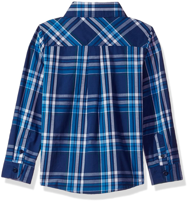 French Toast Boys Long Sleeve Poplin Shirt LE1652