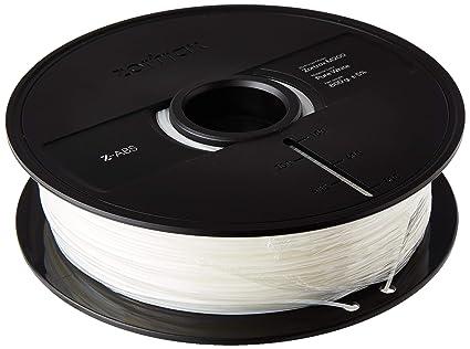 Zortrax Z-ABS M200 filamento para 3D-impresora blanco: Amazon.es ...