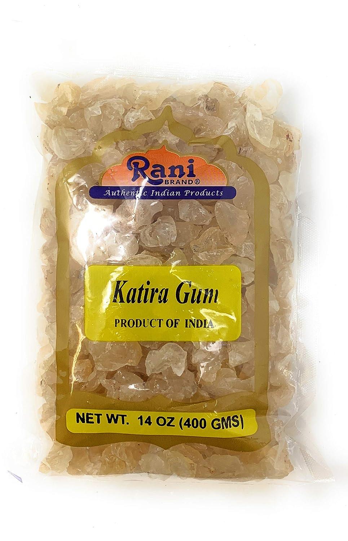 Rani Edible Gum Whole (Goonder Tragacanth Gum) 14oz (400g) ~ All Natural, Salt-Free | Vegan | No Colors | Gluten Free Ingredients | NON-GMO | Indian Origin