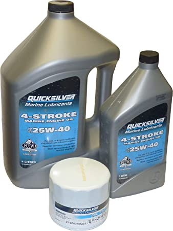 Mercury Glastron Ölfilter 35-866340Q03 Filter für Mercruiser 3.0 4-Zylinder Boot