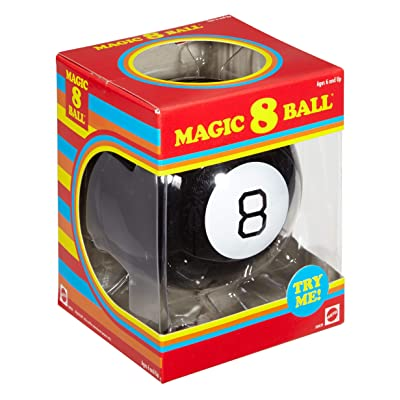 Magic 8 Ball: Retro: Toys & Games