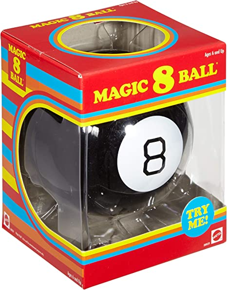 Magic 8 Ball Retro Edition by Mattel: Amazon.es: Juguetes y juegos