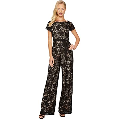 643796837e04 Adrianna Papell Womens Juliet Lace Jumpsuit