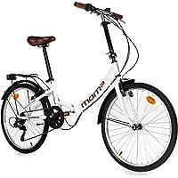Moma Bikes Vélo pliable Shimano 24''Aluminium Unisexe Adulte