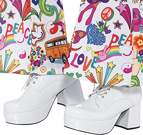 70er Jahre Plateau Schuhe für Damen
