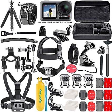 Amazon.com: Kit de 50 piezas de accesorios para cámara de ...