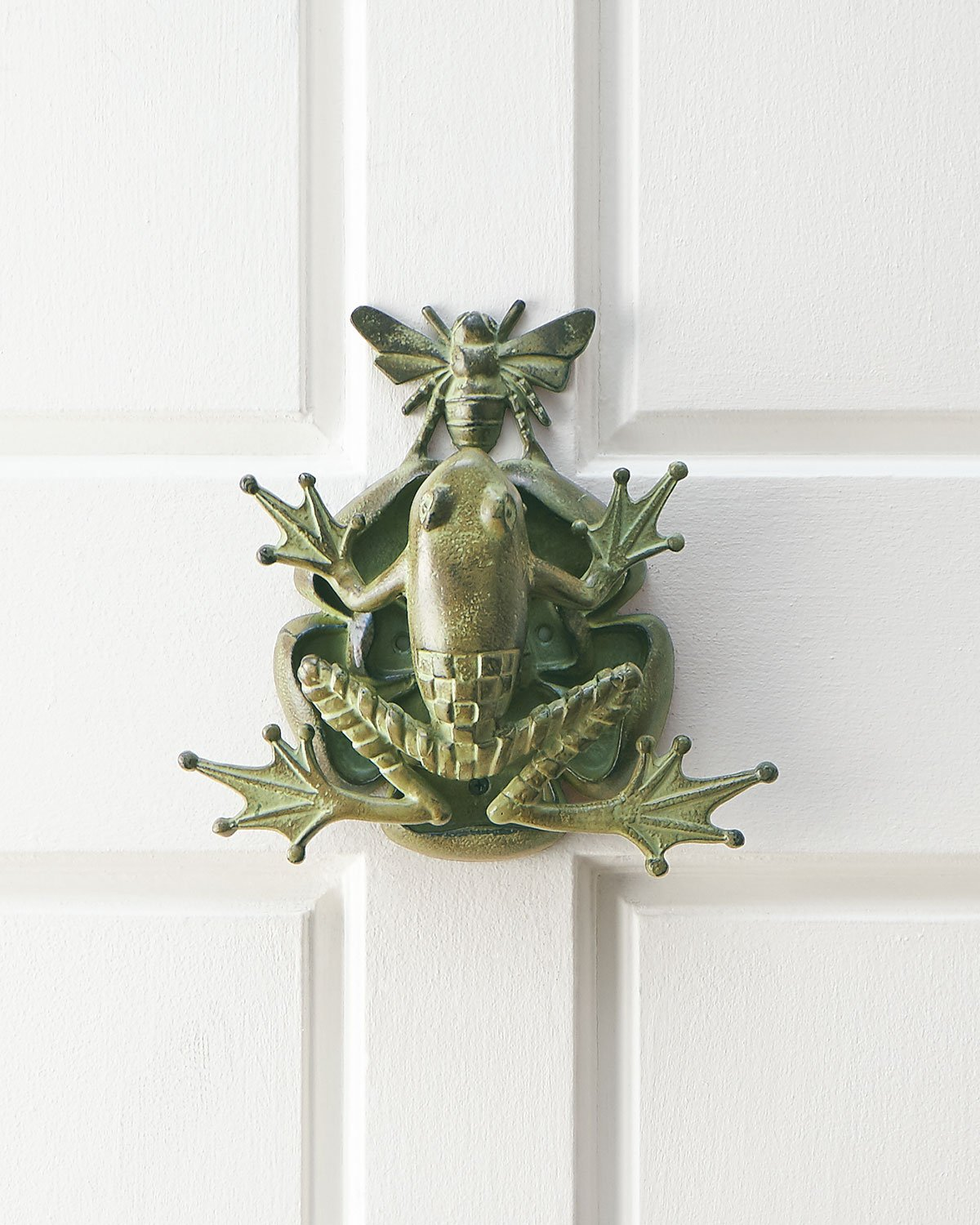MacKenzie-Childs Door knocker 10''W x 3.5''D x 10''T. Imported. by MacKenzie-Childs (Image #1)