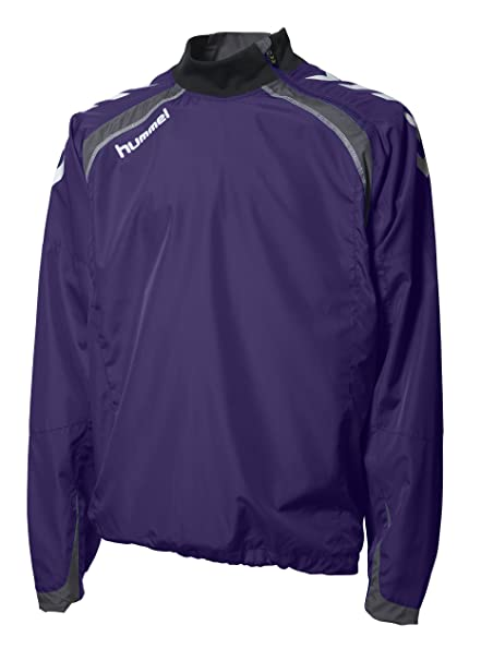 Hummel Team Spirit - Chaqueta para hombre, tamaño M, color púrpura