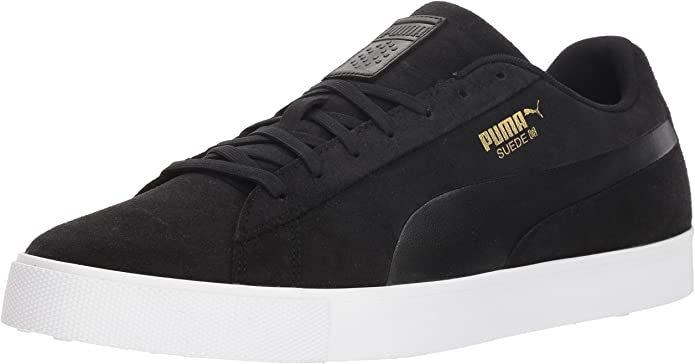 PUMA Men's Suede Golf Shoe