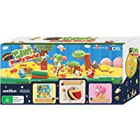 Poochy & Yoshi's Woolly World Bundle (includes Yoshi's Woolly World game + Yarn Poochy amiibo + Pink Yarn Yoshi amiibo)