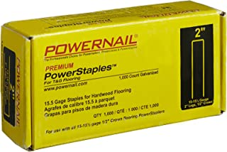 "product image for Powernail 2"" PowerStaples, 15.5 Gauge, 1,000 per box"