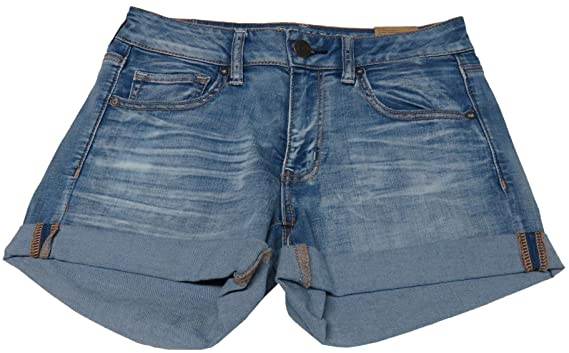 660fb8ed2d Image Unavailable. Image not available for. Color: American Eagle Outfitters  Womens Midi Denim Shorts ...
