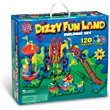 Learning Resources Gears! Gears! Gears! Dizzy Fun Land Motorized Gears Set