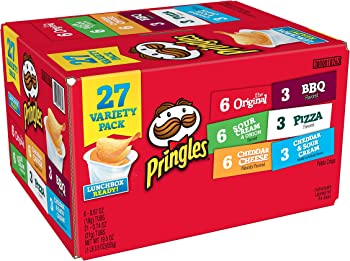 27-Pack Pringles Snack Stacks Potato Crisps Chips (19.5oz)