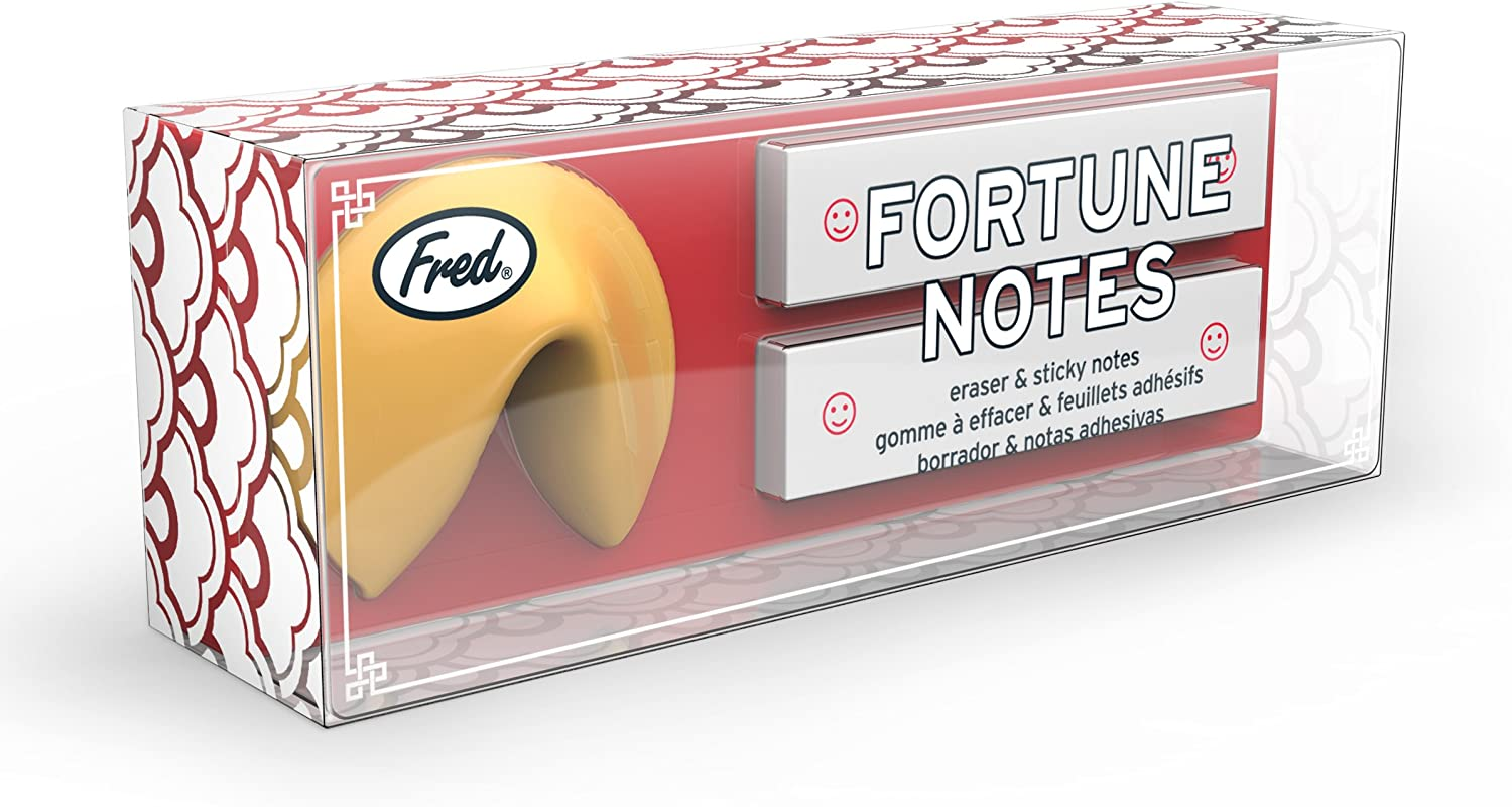 Fred 5218455 FORTUNE Notes Eraser and Note Pad Set