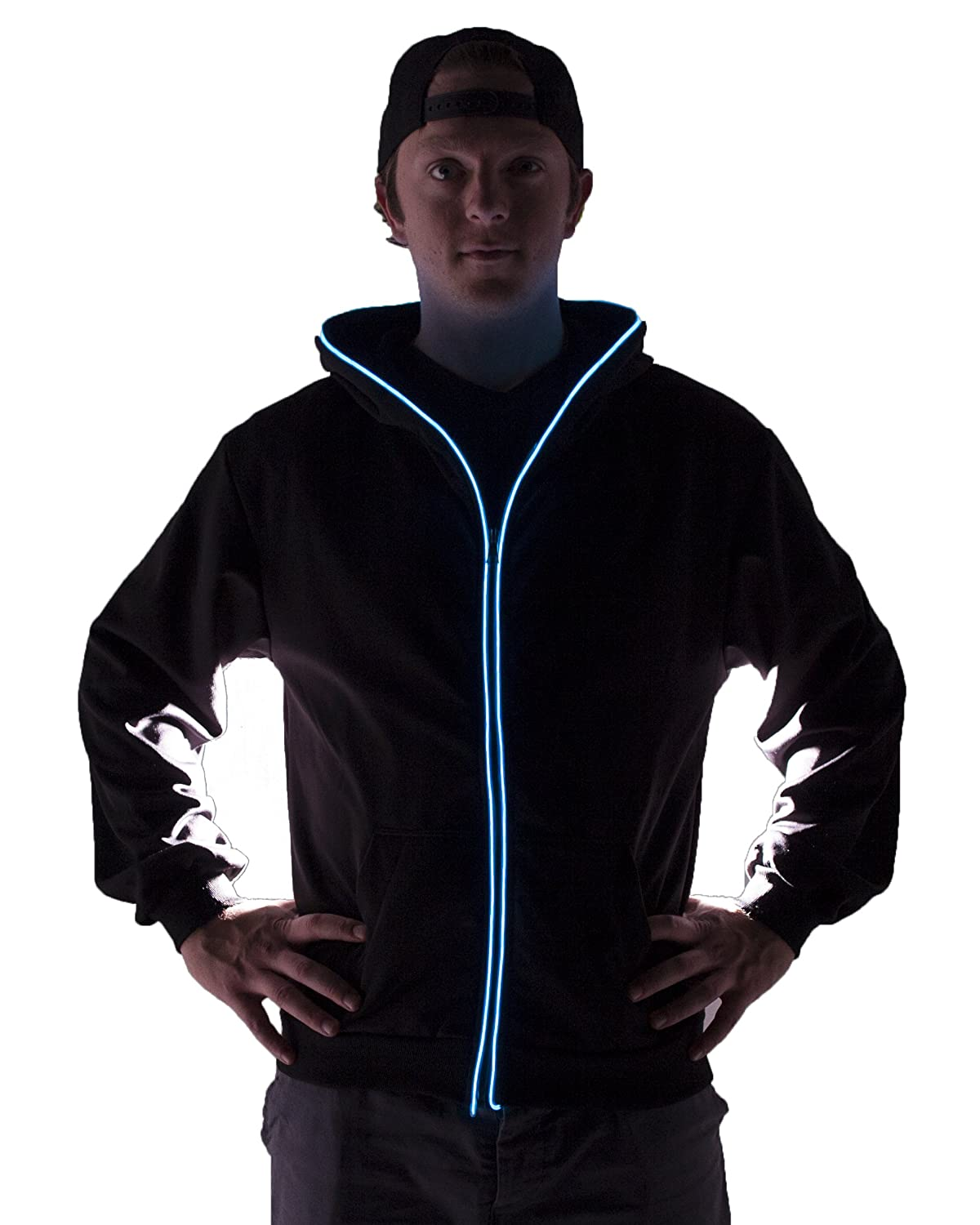 Amazon.com: Light up Hoodies by Electric Styles: Clothing