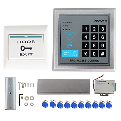 entry electric cards lock id password control magnetic system itm access rfid door