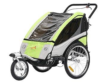 fixi Master Multifunktion 2 en 1 Remolque de bicicleta/Jogger bebé carro Jogger mano carro verde bt504s nuevo: Amazon.es: Bebé