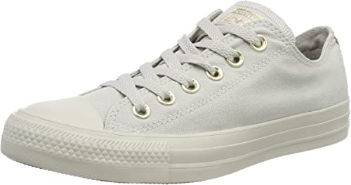 CTAS Ox Pale Grey/Gold Fitness Shoes